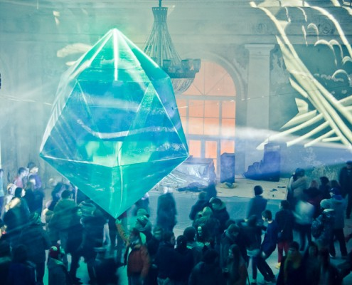 инсталляция для мероприятий - кристалл