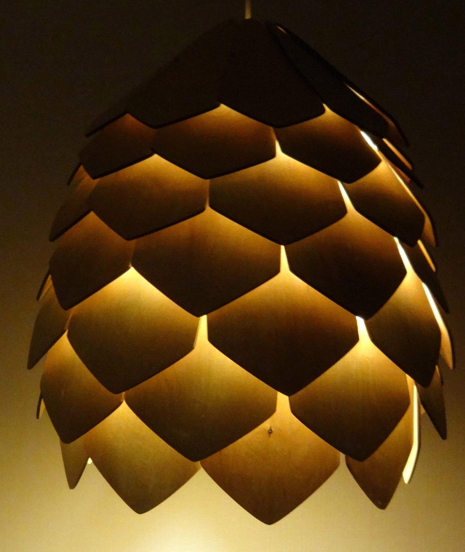 Лампа шишка своими руками 65